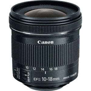 Canon 10 -18mm f4.5-5.6 EF-S IS STM Lens