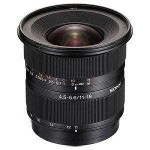 Sony 11-18mm f4.5-5.6 DT AF Lens