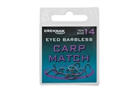 Eyed Barbless Carp Match Hooks