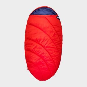 Pod Kid's Sleeping Bag, RED/RED