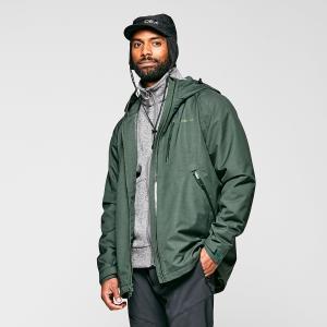 Brasher Men's Textured Waterproof Jacket - Khaki/Khk, Khaki/KHK