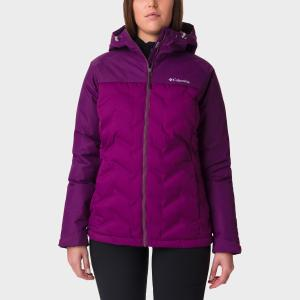 Columbia Women's Grand Trek Down Jacket - Purple/Wmns, PURPLE/WMNS