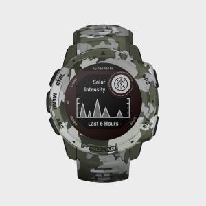 Garmin Instinct Solar Multi-Sport GPS Watch, Multi/Green