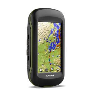 Garmin Montana 610 Discoverer Bundle (with Topo Pro 1:50K GB Map), Black/Green