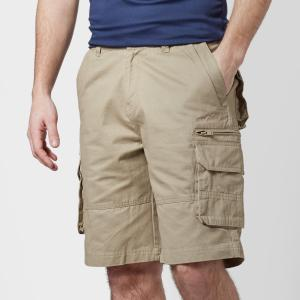 Peter Storm Men's Meteor Cargo Shorts - Beige/Stn, Beige/STN