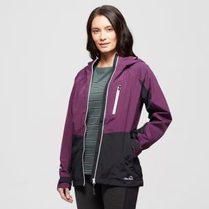 Peter Storm Women's Colourblock Waterproof Jacket - Purple/Pur, Purple/PUR