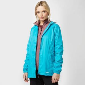 Peter Storm Women's Packable Hooded Jacket - Blue, Blue