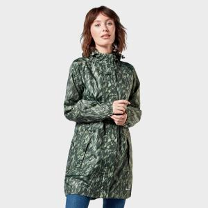 Peter Storm Women's Parka In A Pack Jacket - Green, green