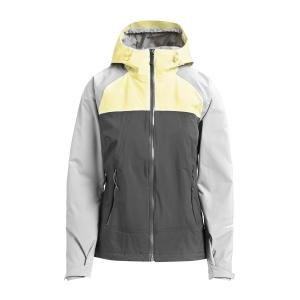 The North Face Women's Stratos Waterproof Jacket - Lgy/Yel/Lgy/Yel, LGY/YEL/LGY/YEL
