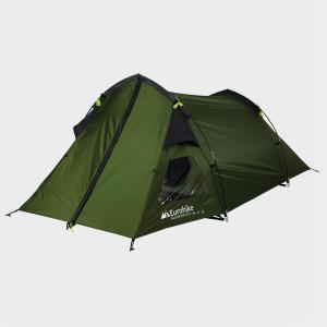 Eurohike Backpacker DLX 2 Man Tent, Khaki/GRN