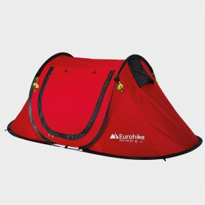 Eurohike Quick Pitch 200 SD 2 Man Tent, Red/RED