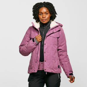 Protest Women's Cleo Snow Jacket - Purple/Pup, Purple/PUP