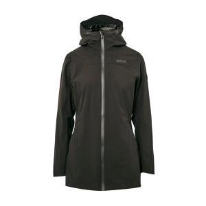 Regatta Women's Pulton Waterproof Jacket - Blk/Blk, BLK/BLK