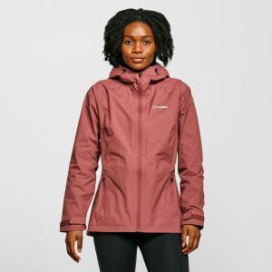Berghaus Women's Stormcloud Waterproof Jacket - Dark Pink/Dpk$, Dark Pink/DPK$