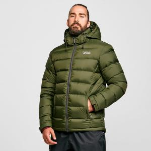 North Ridge Men's Tech Down Jacket - Green/Blu, Green/BLU