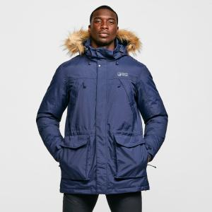 North Ridge Men's Tech Down Parka - Navy/Nvy, Navy/NVY