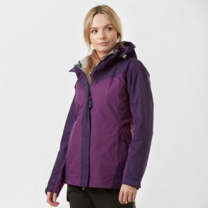 Peter Storm Women's Lakeside 3 In 1 Jacket - Purple/Ppl, Purple/PPL