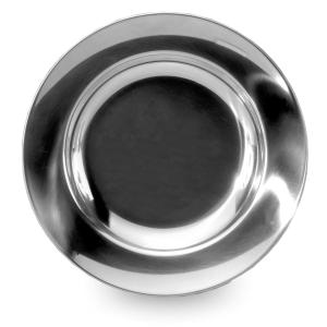 Lifeventure Stainless Steel Plate - Silver/Asso, Silver/ASSO