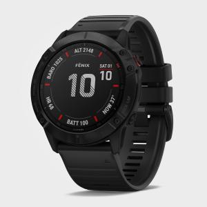 Garmin Fenix 6X Pro Multi-Sport Gps Watch - Black, Black