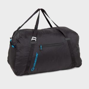 Lifeventure Packable Duffle Bag 70L - Black/Blue, Black/Blue