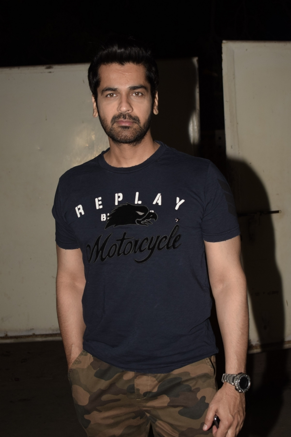 Mumbai: Actor Arjan Bajwa at the screening of an upcoming film
