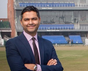 PCB chief executive Wasim Khan.