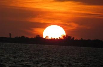 Orange Sanibel Sunset