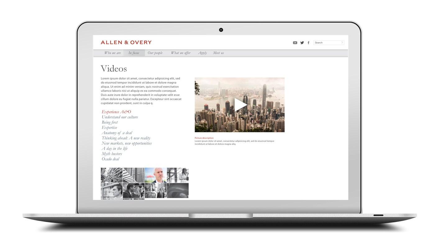 Allen & Overy Graduate Recruitment