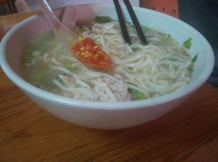 zhu mian with a dash of lajiao added