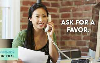 ask for a favor