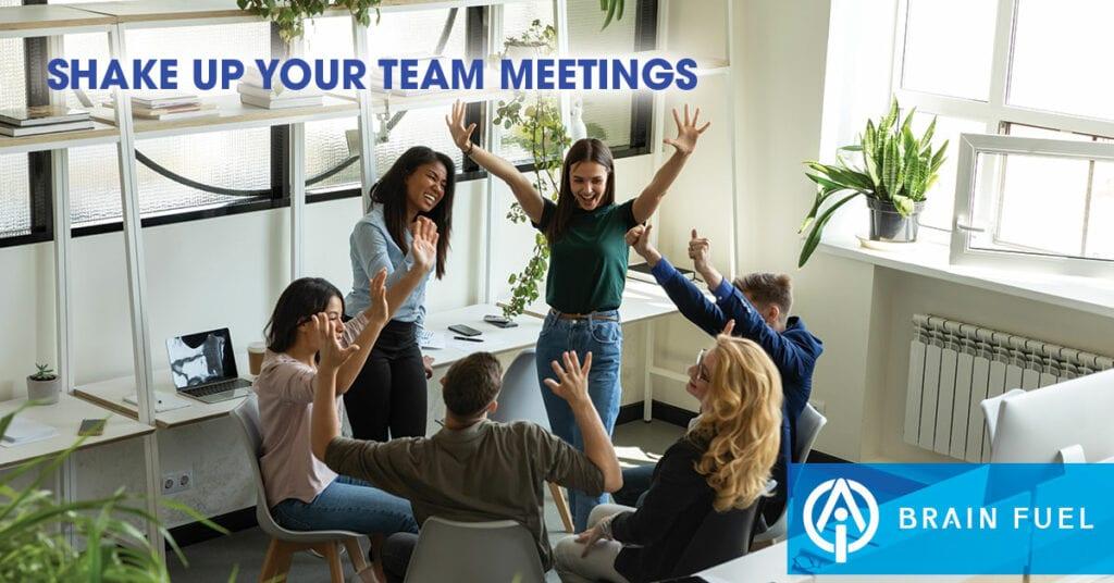insurance team meetings