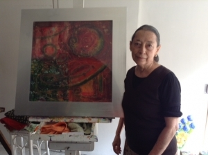 Chencha Guzmán, pintora generosa y apasionada