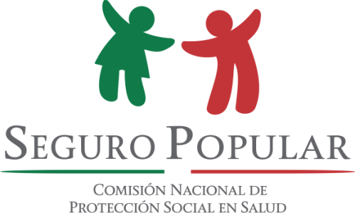 Seguro Popular, logotipo con fondo transparente @2017