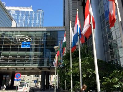 Bruselas, Bélgica. Sede de los poderes de la Comunidad Europea.