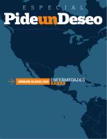 Revista 'Pide un Deseo', ed. especial, núm 14, Semana Global 2015 de Enfermedades Raras