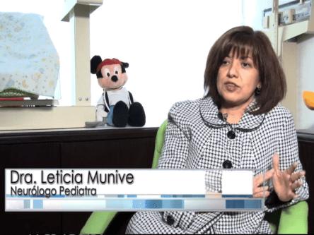 Dra.Munive, neuróloga pediatra que ha tratado pacientes con Niemann Pick C