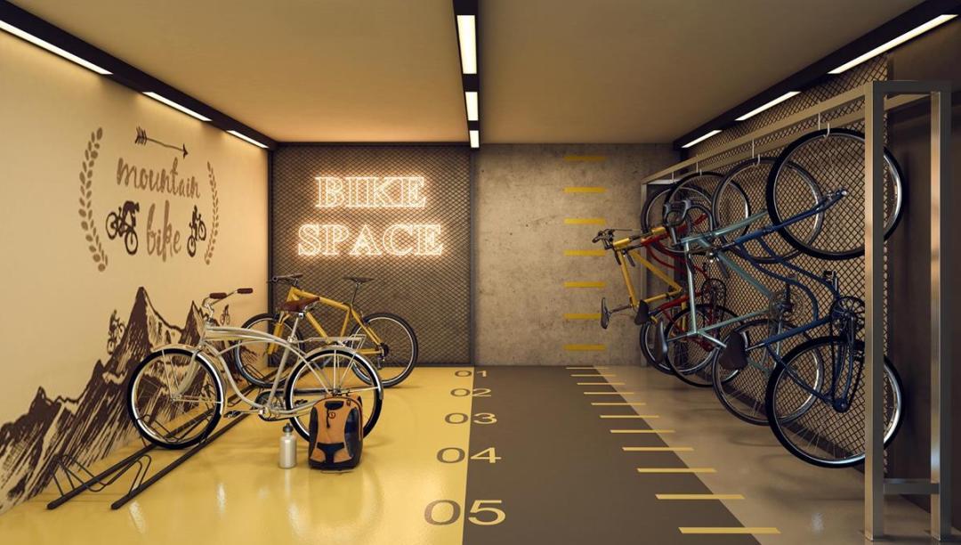 Olhar Augusta - Bicicletário