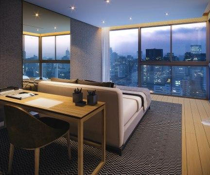 Suite da Residencia Duplex