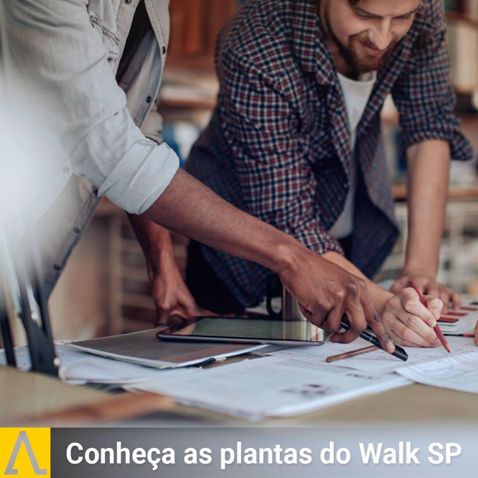 Conheça as Plantas do Walk SP