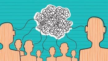communication problem illustration comic