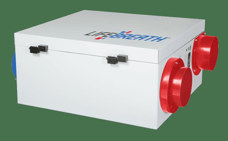Lifebreath METRO 120ERV-ECM Residential Energy Recovery Ventilator (ERV)
