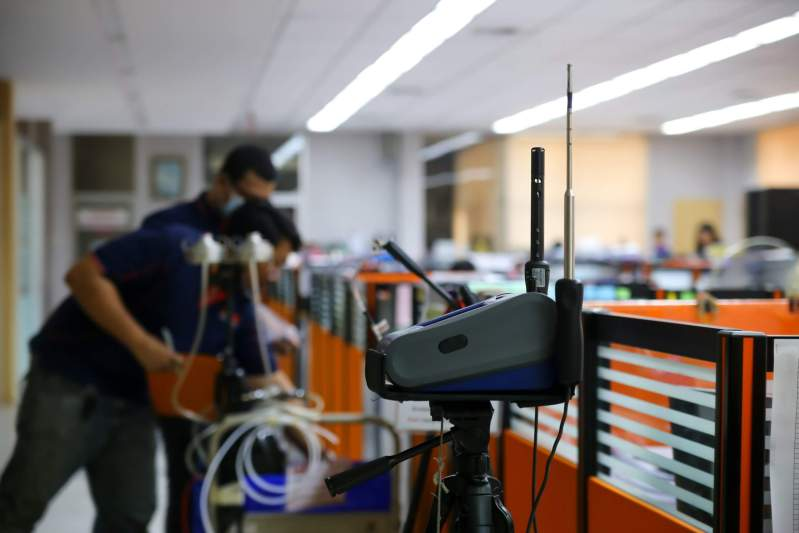 testing and monitoring indoor air quality