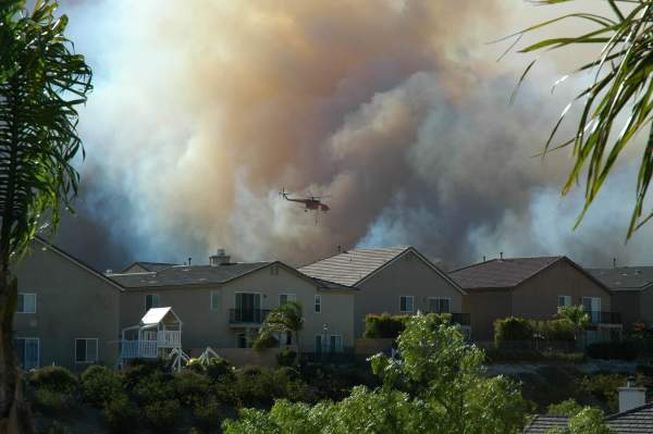 Western states wildfire smoke air quality