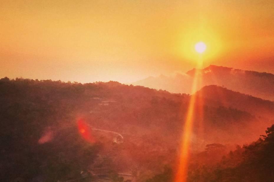 Sunrise di Kampung Pitu