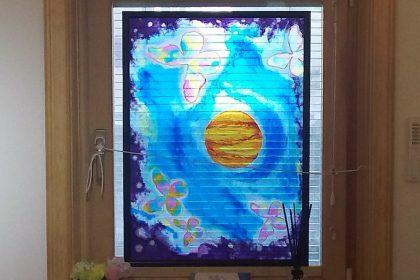 HIROのディンプルアート「光の宮殿」「未来へ」