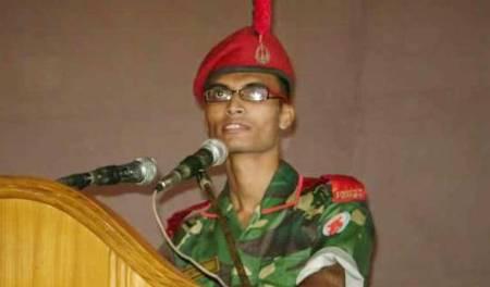 Cadet Under Officer Ashiquer Rahaman