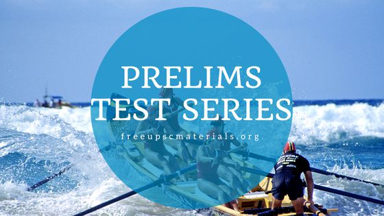 Vision IAS Prelims 2019 Test 1 With Solutions - IAS Materials