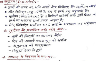 Photo of World Geography Hand Written Notes in Hindi  pdf Download