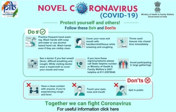 Novel coronavirus safety tips