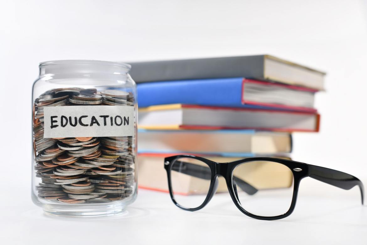 Education is important and expensive. Financial Basics.